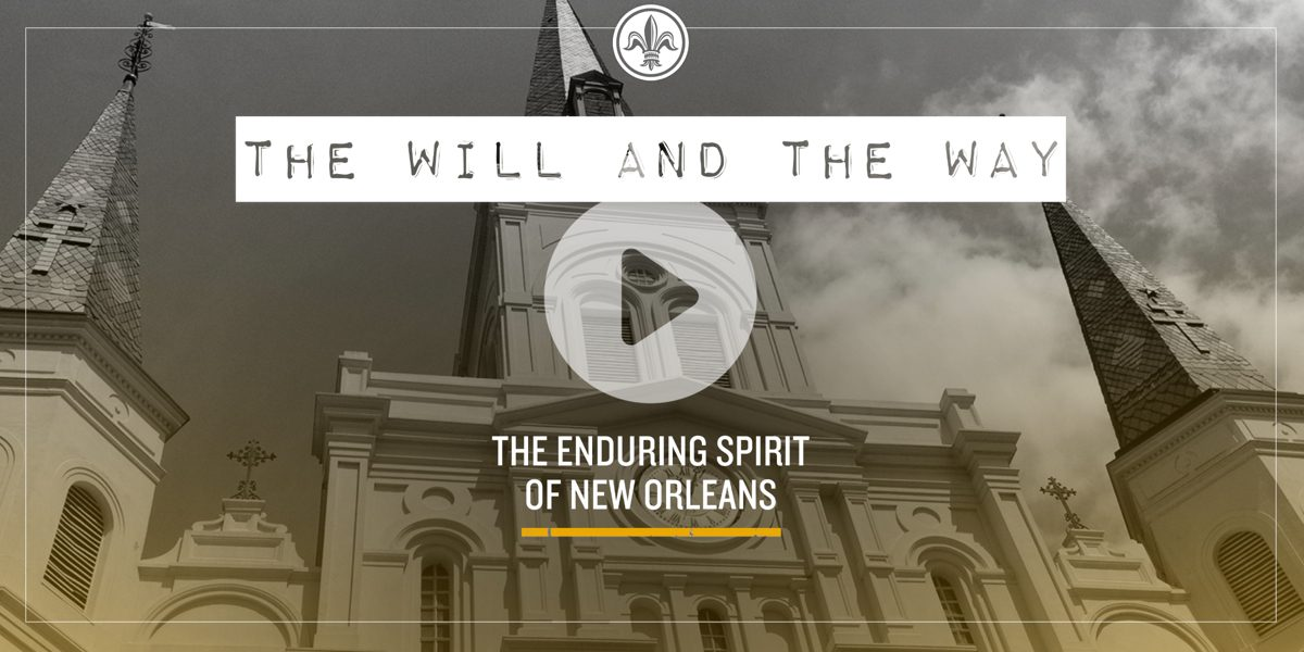 Screen capture of The Will & The Way website